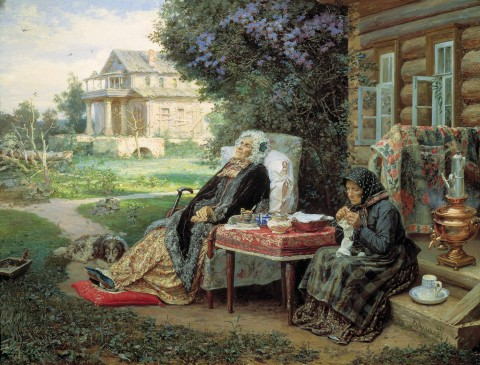 Maximov-All-in-the-Past-1889