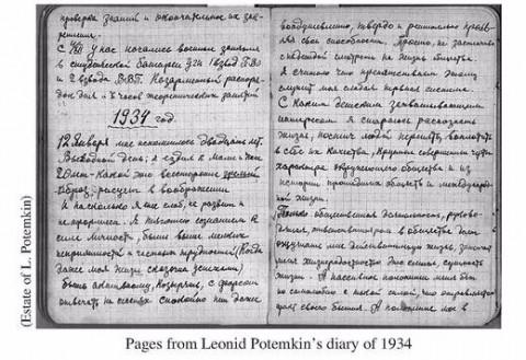 Stalinisten schreven ook dagboeken