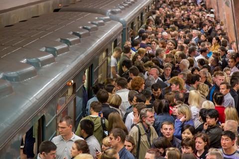 Durf ik eindelijk te slapen in de Moskouse metro?