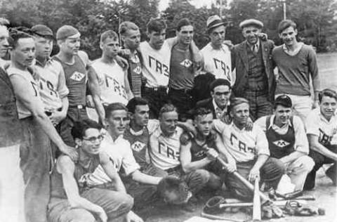 Amerikaanse-baseball-team-in-het-Gorki-Park-010318