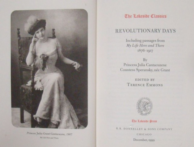 Grant-Julia-cover-boek-Revolutionay-Days-1876-1917-090318