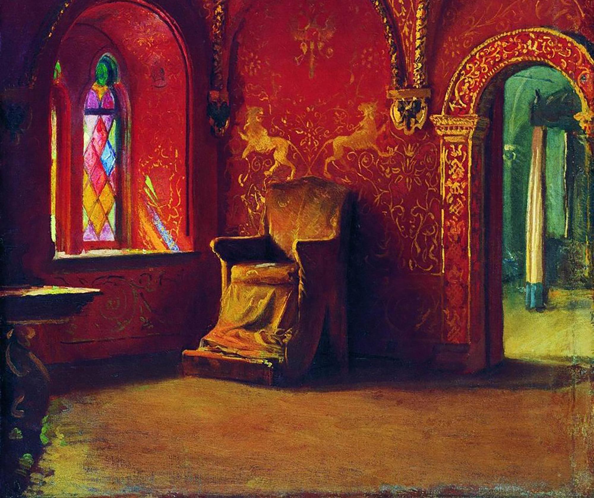ryabushkin-andrei-red-house